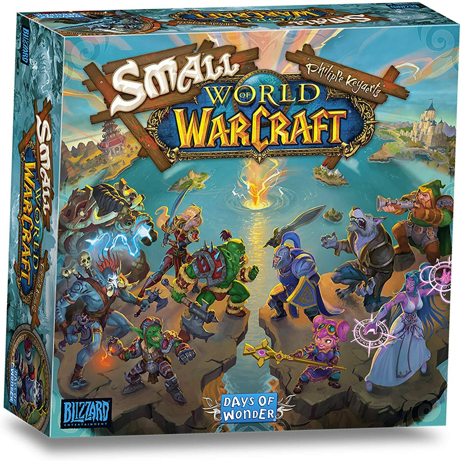 smallworld of warcraft boardgame