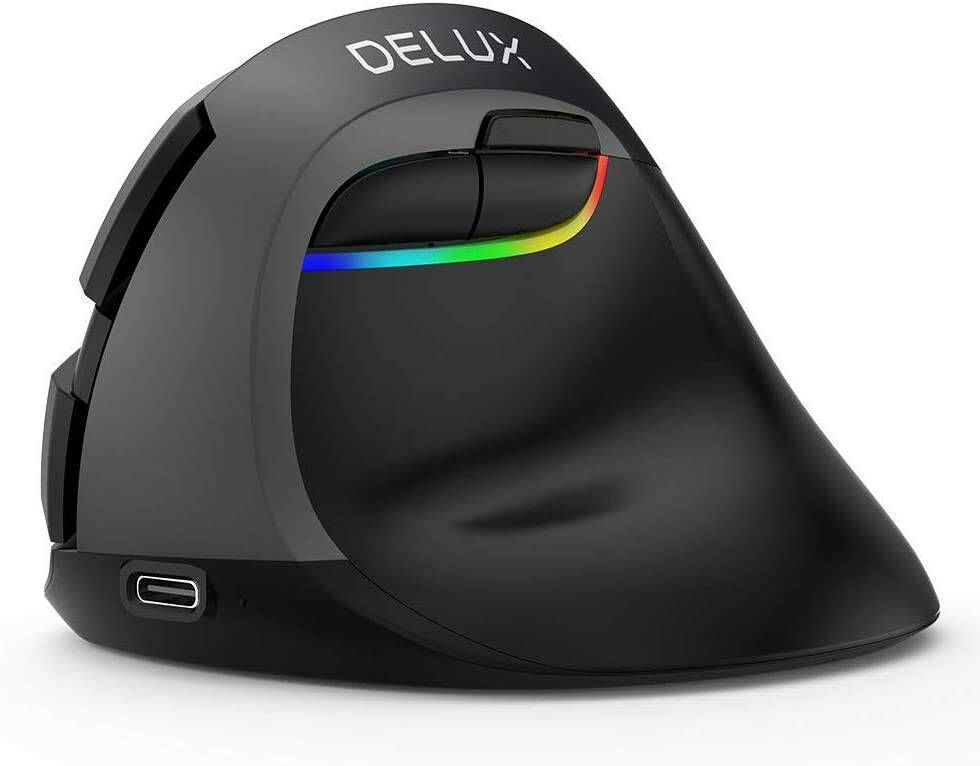 mouse verticale wireless DELUX