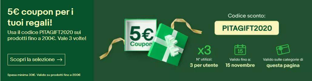 eBay Coupon Natale