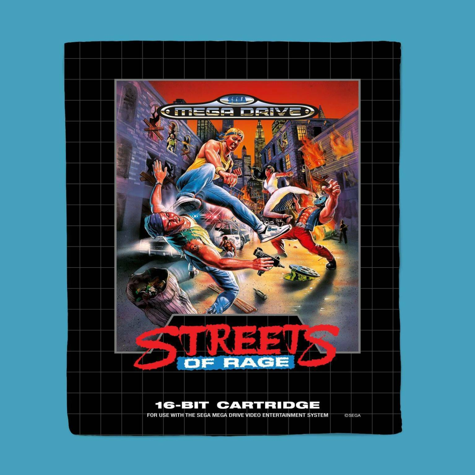 Streets Of Rage Coperta in pile