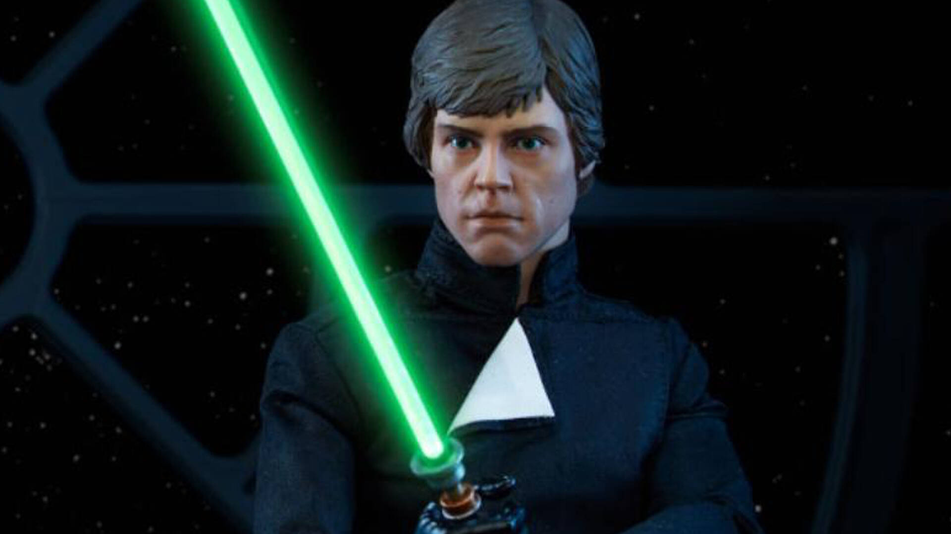 OFFICIAL SIDESHOW COLLECTIBLES STAR WARS LUKE SKYWALKER 1:6 SCALE DELUXE FIGURE