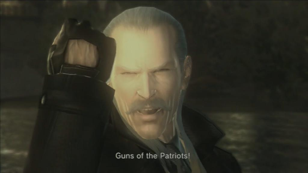 mgs4 guns of the patriots