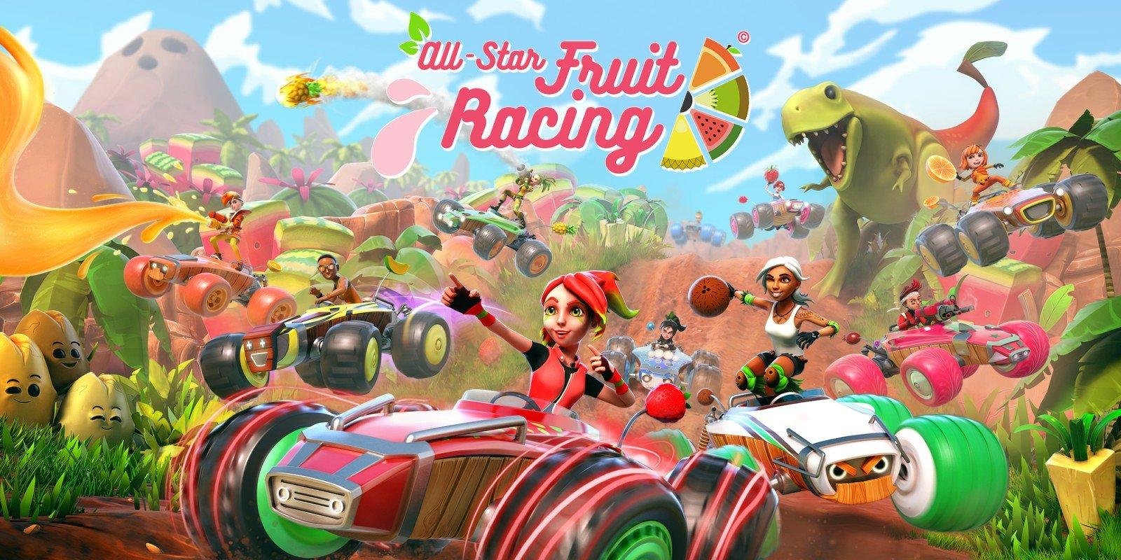 All Star Fruit Rcing VR candidato ai TIGA Awards