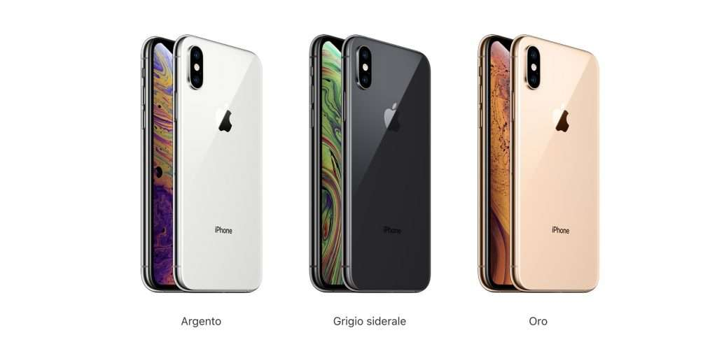 iphone xs colori