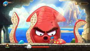 Monster Boy and the Cursed Kingdom, demo a fine mese