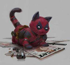 deadpool gatto