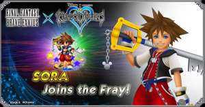 Kingdom Hearts, arriva il crossover con Final Fantasy Brave Exvius
