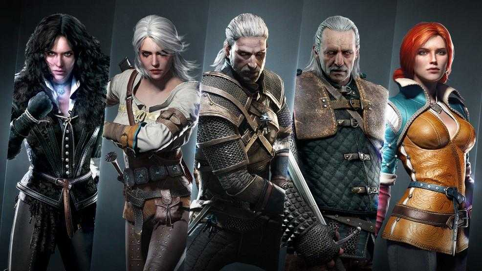 the witcher 3 protagonisti