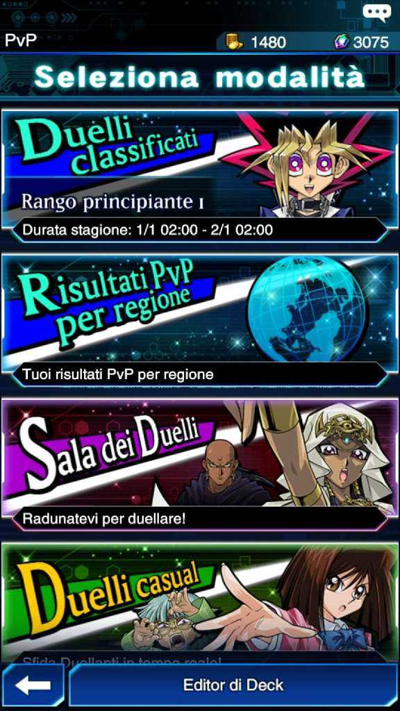 Yu-gi-oh duel links recensione