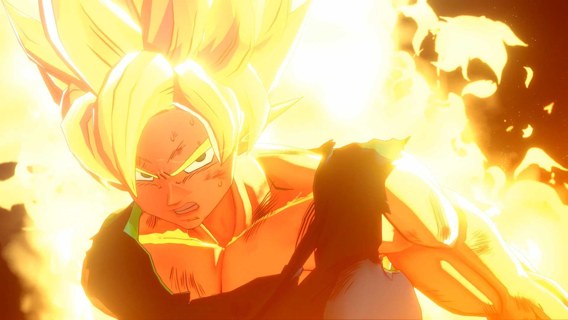 dragon ball game project z action rpg