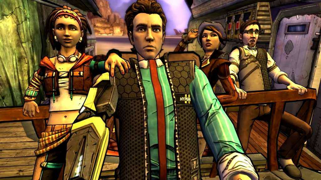 Tales from the Borderlands presentation