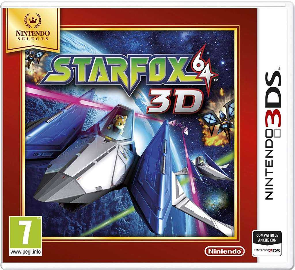 nintendo selects star fox 64