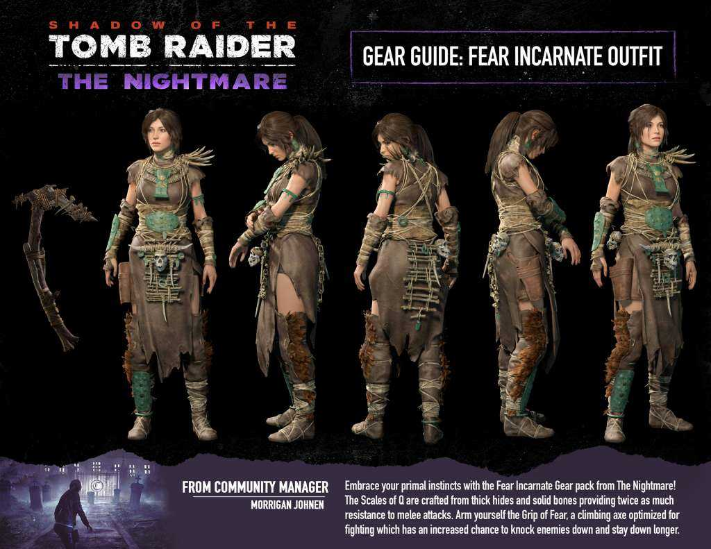 Shadow of the Tomb Raider: annunciato il DLC The Nightmare