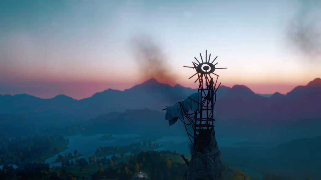 Hope County dall'alto