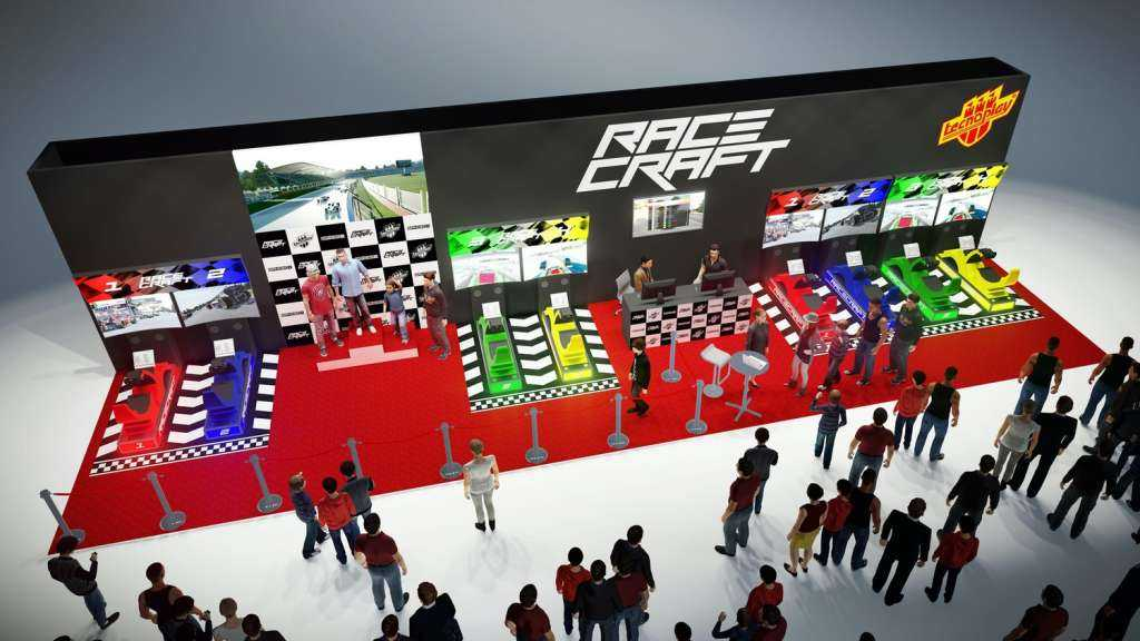 racecraft arcade cup