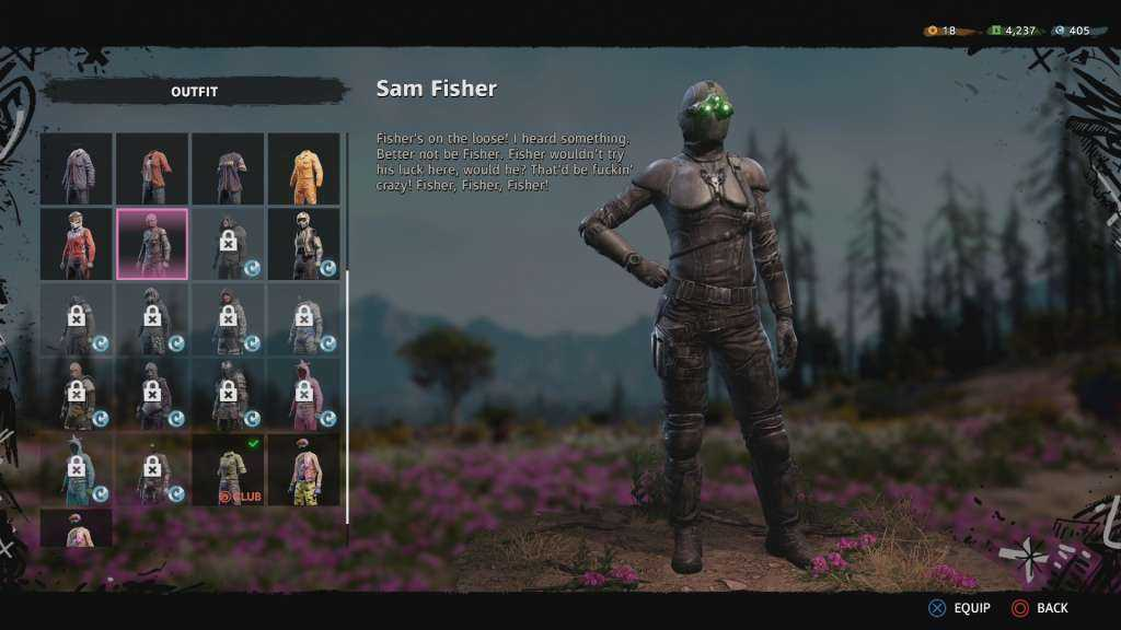 far cry new dawn splinter cell