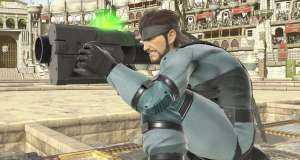 snake super smash bros.
