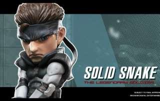solid snake first 4 figures