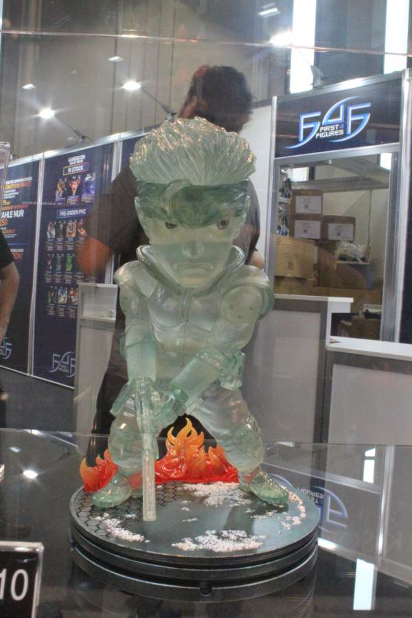 Solid Snake: ecco la statuetta Super Deformed
