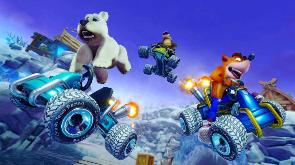 crash team racing polar