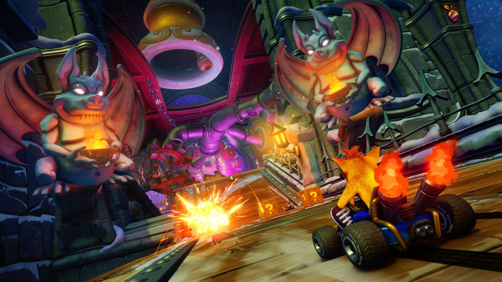 Crash Team Racing Nitro-Fueled, patch per sistemare il multiplayer
