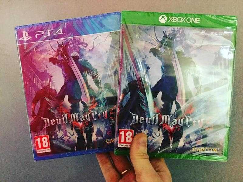 Devil May Cry 5, day one rotto in UK?