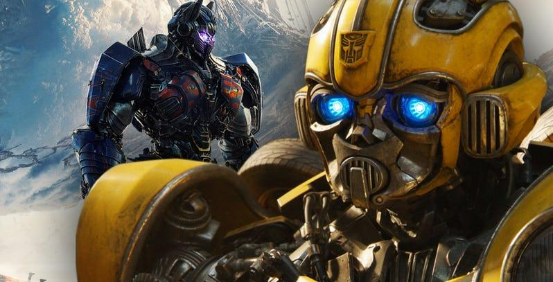 Bumblebee and Optimus Prime Transformers