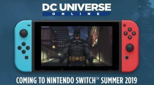 DC Universe Online arriva su Switch