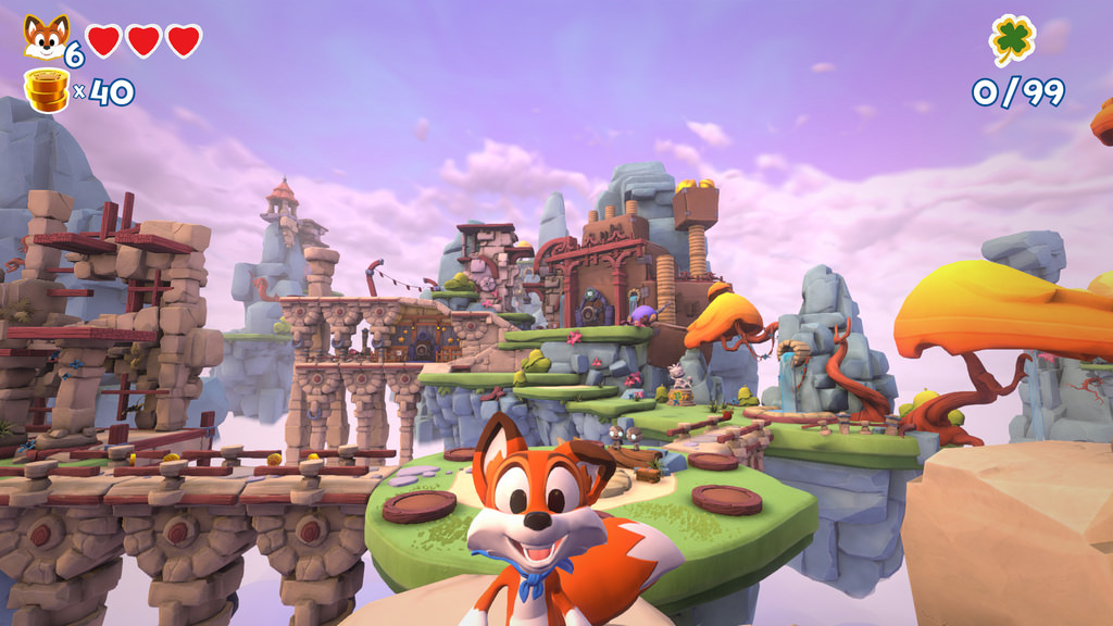 New Super Lucky's Tale in autunno su Nintendo Switch
