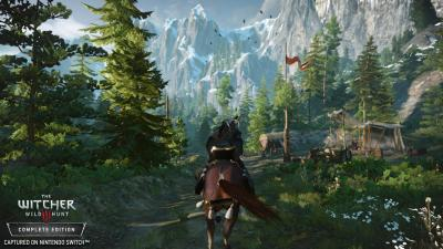 The Witcher 3: Wild Hunt Complete Edition annunciato per Nintendo Switch