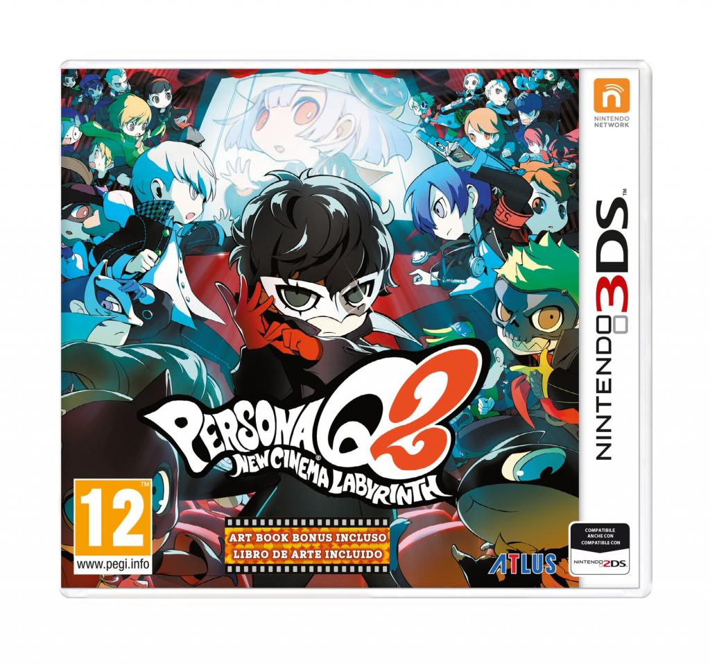 Persona Q2: New Cinema Labyrinth ora disponibile su Nintendo 3DS