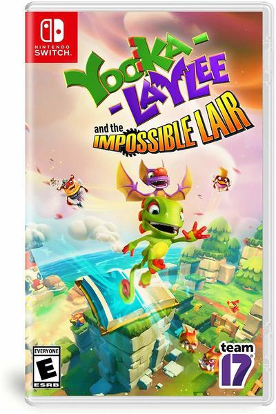 Yooka-Laylee and the Impossible Lair, la cover Switch