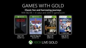 games with gold july 2019