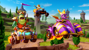 Crash Team Racing Nitro-Fueled, Spyro disponibile da oggi