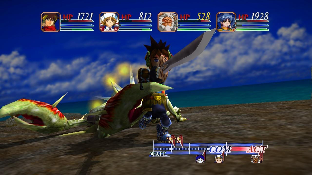 Grandia HD Collection Gameplay