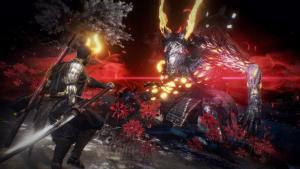 Nioh 2: una boss fight giocata in multiplayer dal TGS 2019