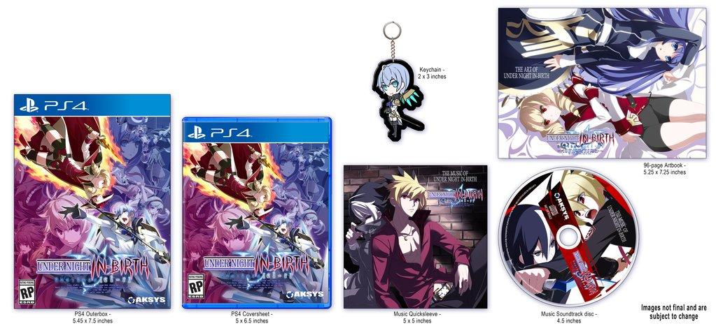 PS4SWITCHUnder Night In-Birth Exe:Late[cl-r]