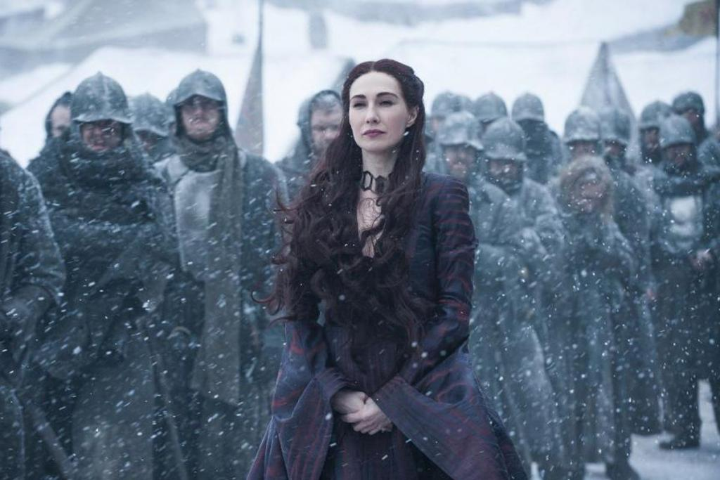 Carice van Houten (Melisandre) sul finale di Game of Thrones