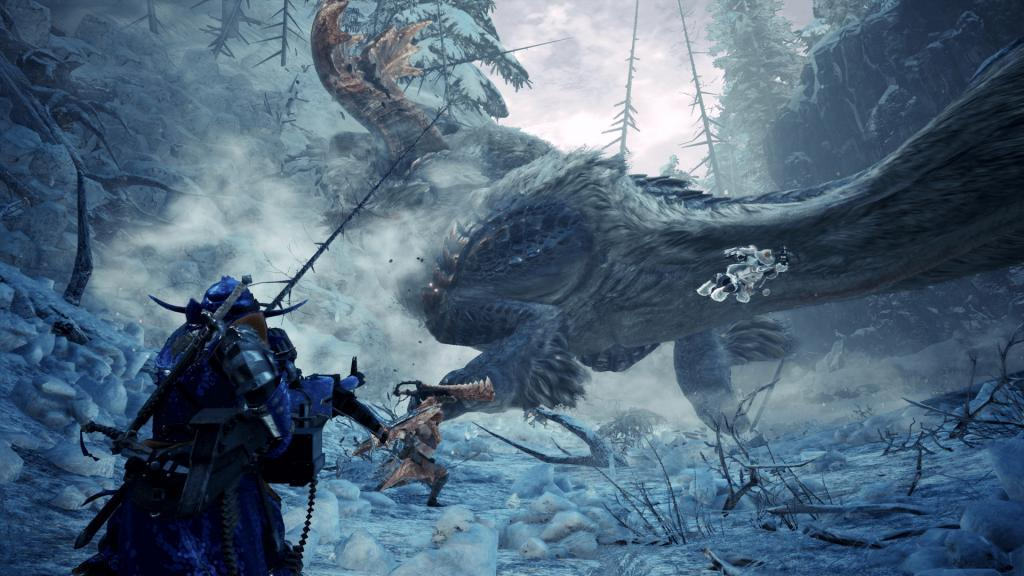 Monster Hunter World: Iceborne è disponibile da oggi: ecco il trailer di lancio