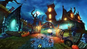 Crash Team Racing, un video per lo Spooky Grand Prix