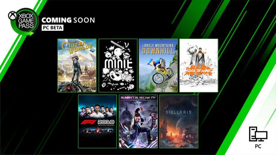 Xbox Game Pass per PC: The Outer Worlds, Minit, State of Mind e altri ad ottobre