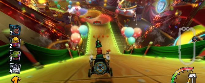 Crash Team Racing Nitro-Fueled: uno sguardo al Neon Circuit Grand Prix - Speciale