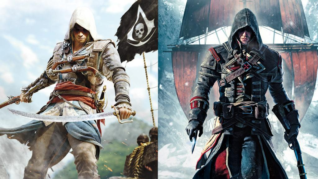 Assassin's Creed IV Black Flag e Rogue su Switch a dicembre