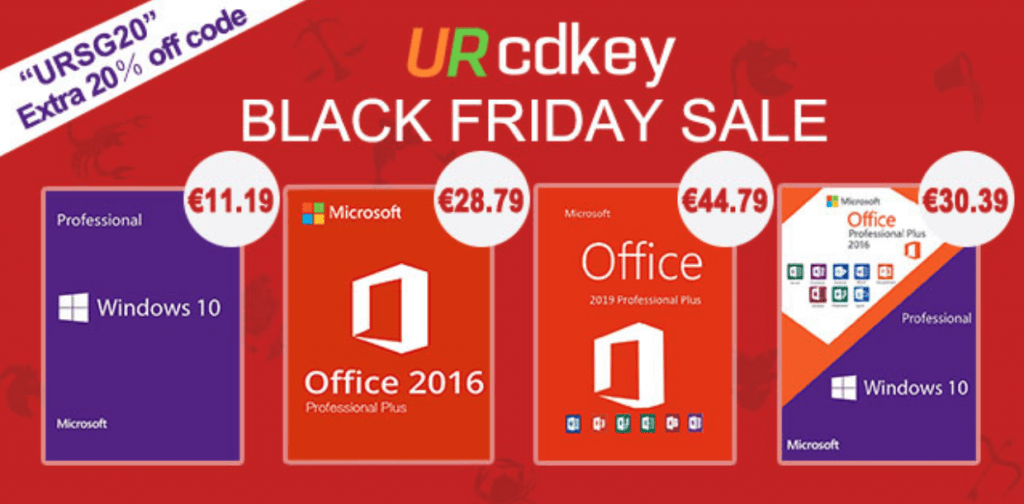 Per il Black Friday, Windows 10 Pro costa 11,19 euro
