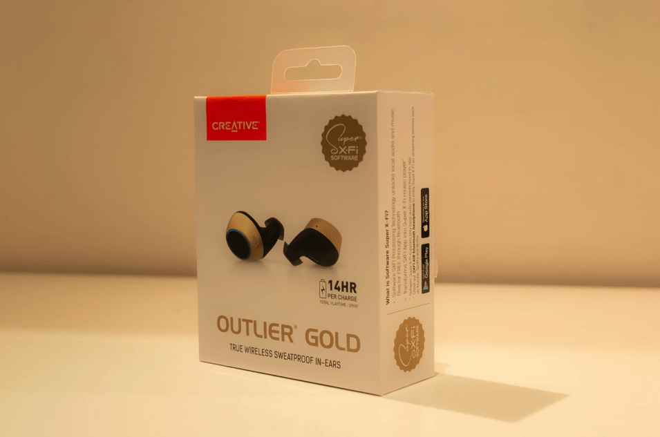 Creative Outlier Gold – Recensione