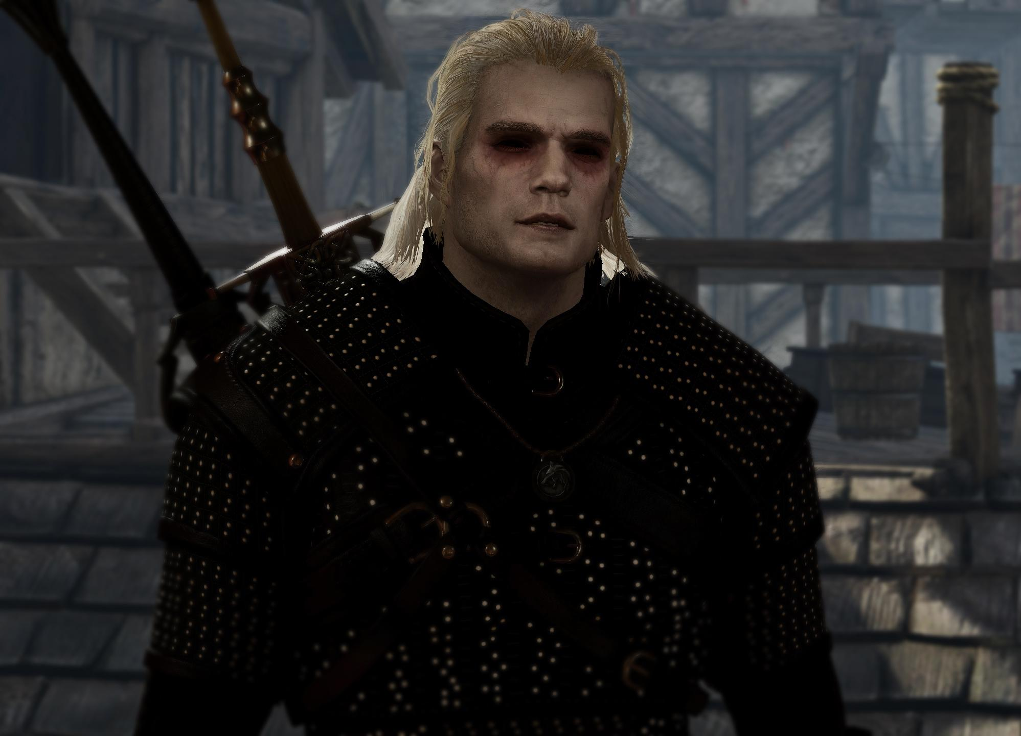 Una mod porta Henry Cavill ed Anya Chalotra in The Witcher 3