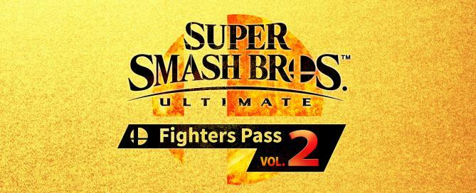 super smash bros ultimate figher pass vol. 2