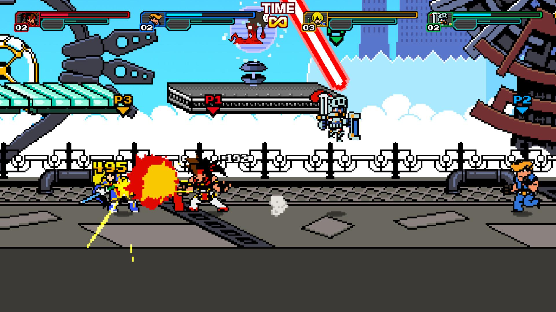 Arc System Works annuncia l'action 2D in pixel art Code Shifter