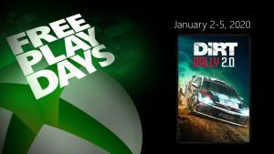 xbox free play days dirt rally 2.0