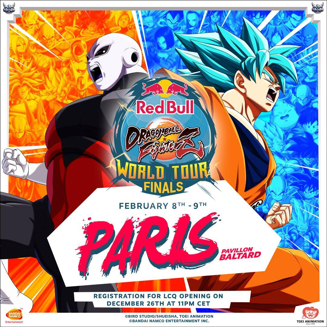 Dragon Ball FighterZ le date del World Tour Finals 2019/2020